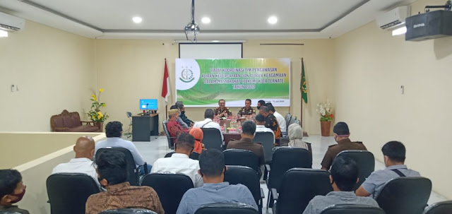 Rakor dengan Kejari, Pakem Bentuk Tim Penindakan Aktifitas Syiah Ja'fariyah di Ternate