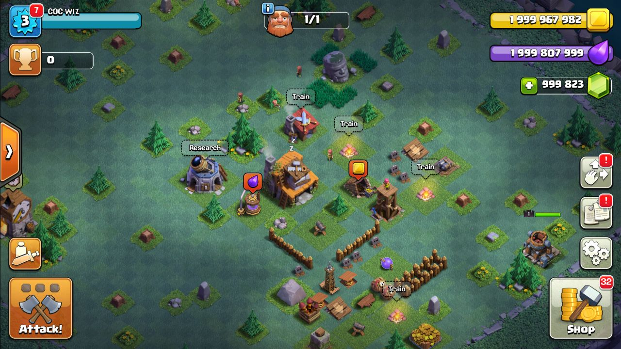 clash of clans hack mod apk free download 2018