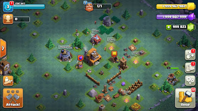 open clash of clans