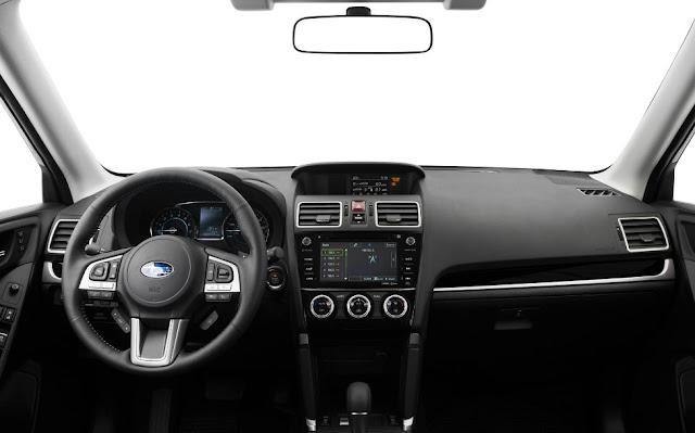 2017 Subaru Forester interiora