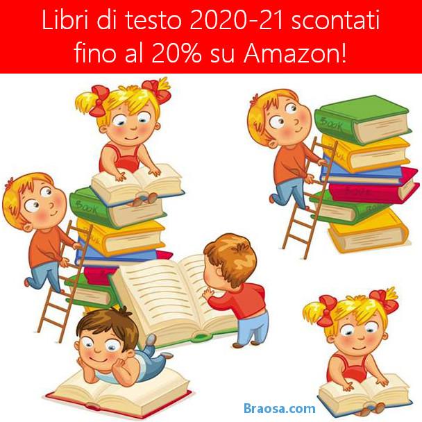 LIBRI SCOLASTICI AMAZON 2020/21 SCONTATI