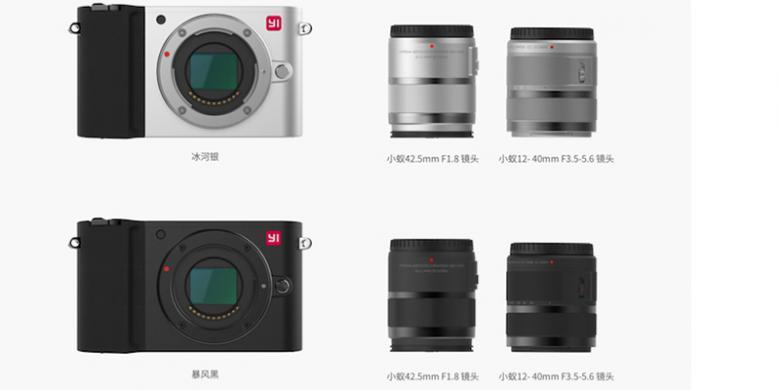 Kamera Mirrorless Xiaomi Pertama Yi M1 Harga 4 jutaan