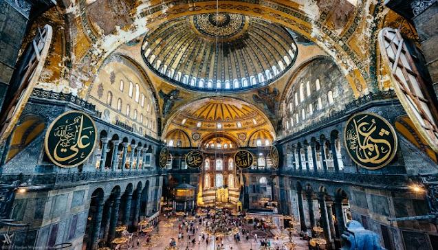 آيا صوفيا اسطنبول,ايا صوفيا اين يقع,ايا صوفيا والمسجد الازرق,ايا صوفيا واليونان,مسجد ايا صوفيا,متحف وجامع آيا صوفيا في تركيا,مسجد ومتحف آيا صوفيا