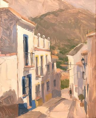 #218 'Finestrat, Spain' 8×10″