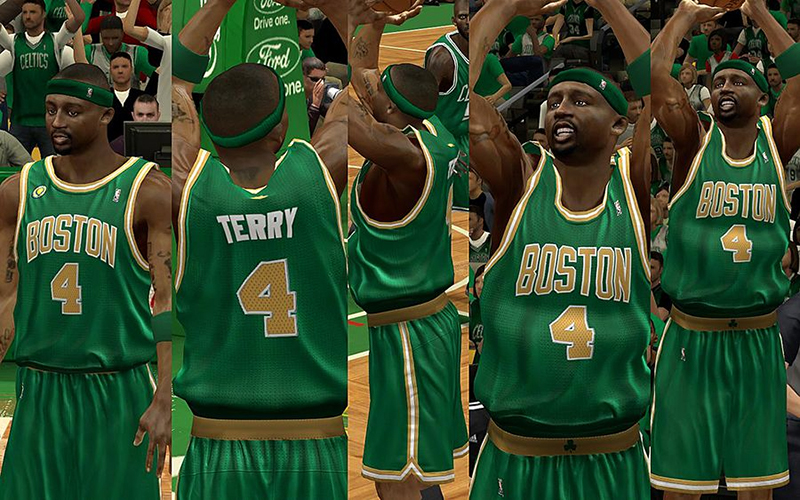 ... NBA 2K13 Boston Celtics St. Patricks Jersey Mod ... 483701cc0