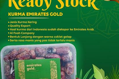 Jual Kurma Emirates Gold