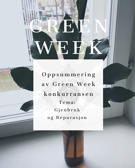 Green Week konkurranse, en motvekt til Black Friday og Black Week