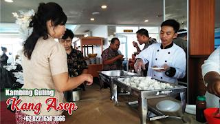 paket lengkap kambing guling kang asep lembang
