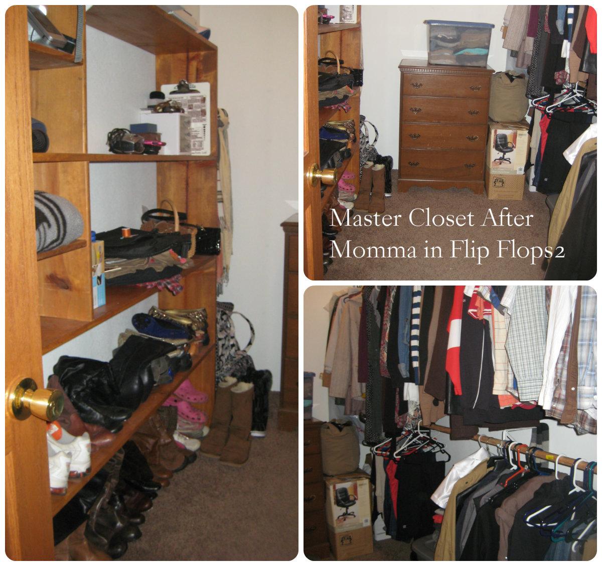 Messy Room Garbage: Organizing My Closet