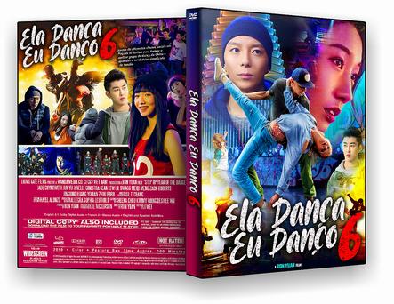 DVD ELA DANCA EU DANÇO 6 DVD-R