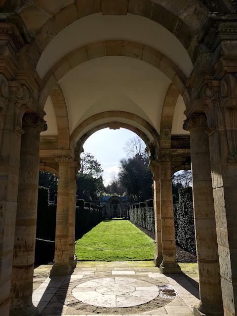 Italian Garden Hever Castle Kent