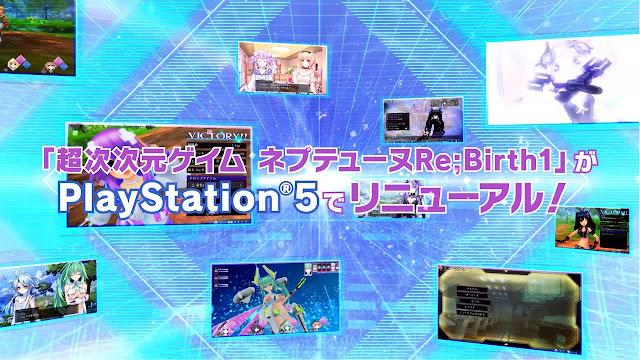 "Game ""Go! Go! 5 Jiden Game Neptune re★Verse"" Merilis  PV Pertamanya!"