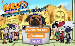 Naruto oẳn tù tì game 2 người gây cấn
