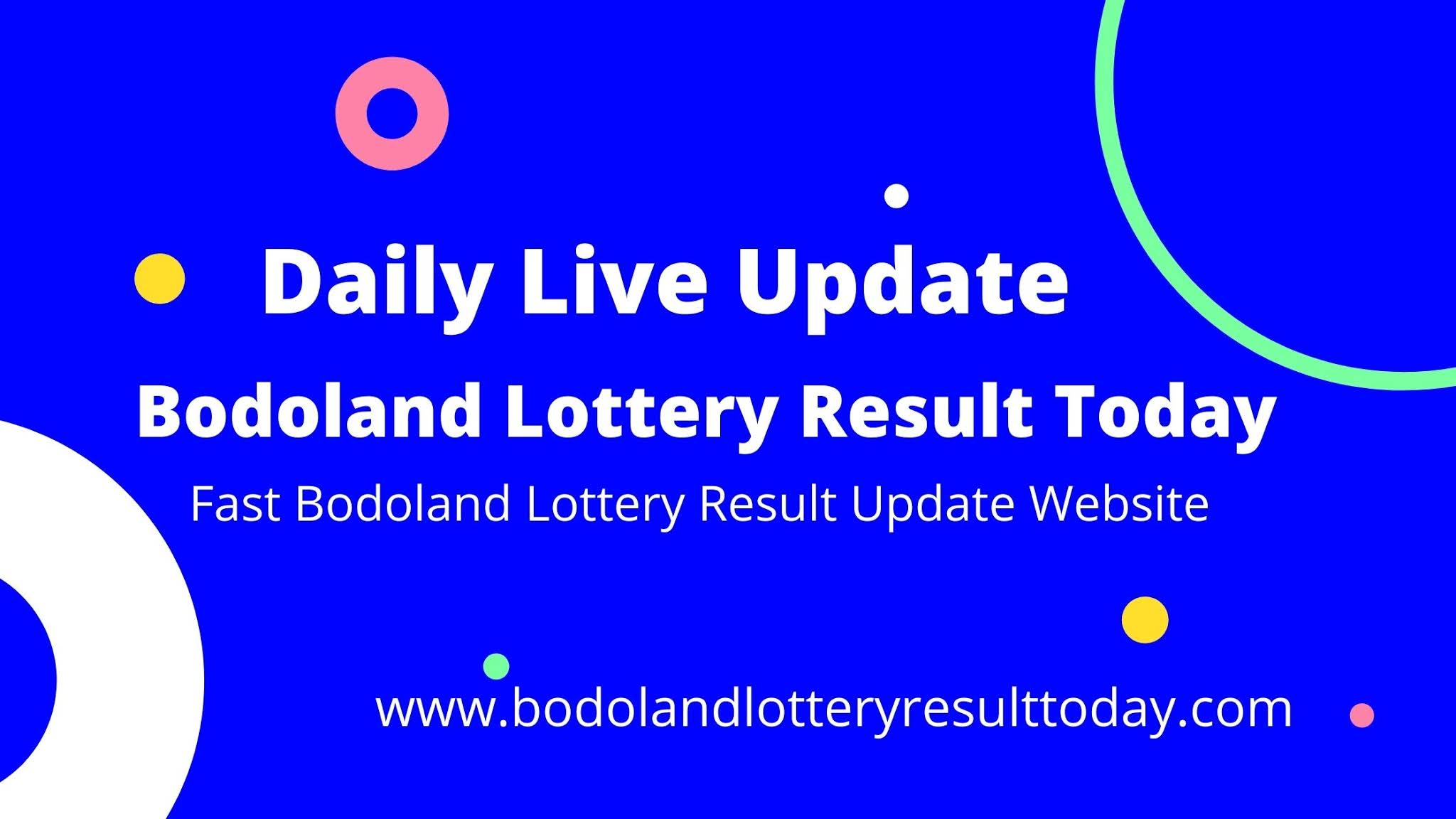 Bodoland Lottery Result