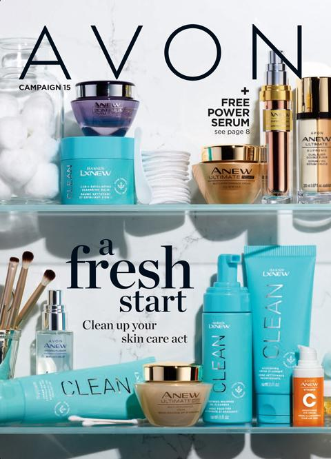 AVON Campaign 15 2021 Brochure/Catalog Online - A Refresh Start!