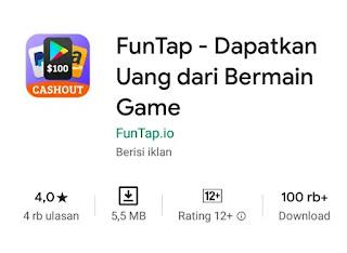 FunTap - Dapatkan Uang Dari Bermain Game