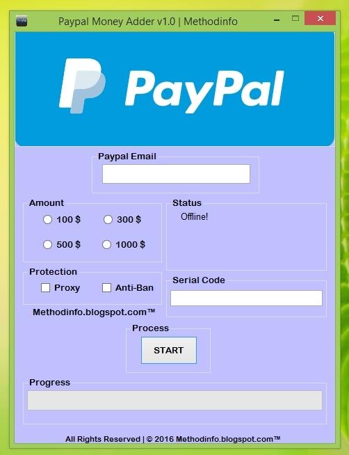 paypal money generator 2011 free paypal hacks