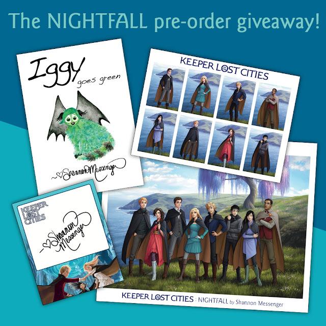 The NIGHTFALL Pre-Order Giveaway!