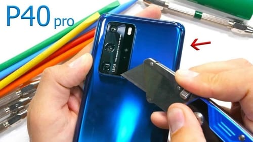Check the durability test for Huawei P40 Pro