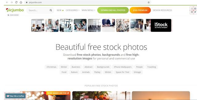 موقع بيك جامبو Picjumbo لصور وخلفيات عالية الدقة مجانا - وظائف ناو