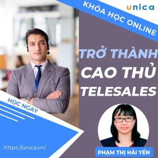 Khóa học SALE BÁN HÀNG- Trở thành cao thủ Telesale UNICA.VN ebook PDF EPUB AWZ3 PRC MOBI