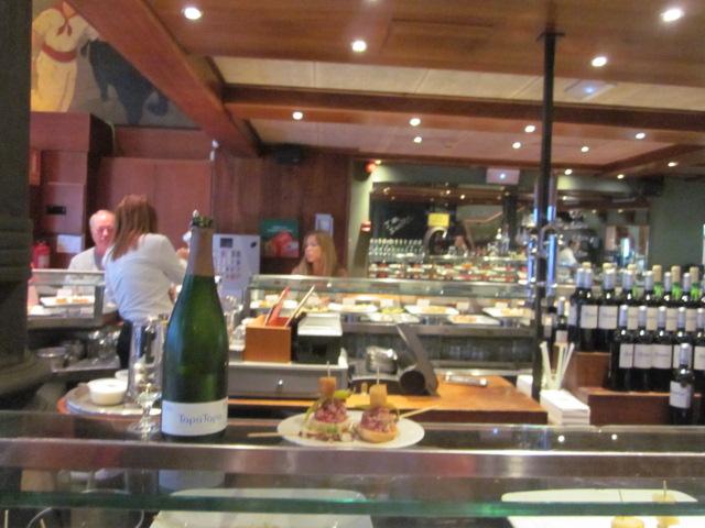 Best Tapas Bar in Barcelona Spain - Txapela Tapas Bar