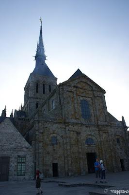 Una delle chiese dell'Abbazia di Saint Michel