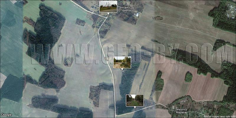Карта Гиревичи-Мацевичи