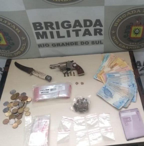 BM prende homem por porte ilegal de arma de fogo na Anair em Cachoeirinha