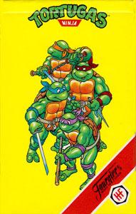Baraja infantil Las tortugas ninja Heraclio Fournier