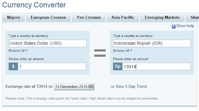 Finance Yahoo Currency Converter