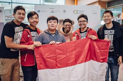 Tim Indonesia Raih Emas di Olimpiade Matematika di Rumania / sumber : kompas.com