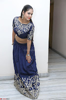 Ruchi Pandey in Blue Embrodiery Choli ghagra at Idem Deyyam music launch ~ Celebrities Exclusive Galleries 031.JPG
