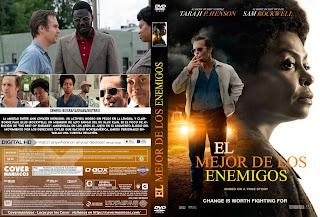 CARATULA EL MEJOR DE LOS ENEMIGOS 2019[COVER DVD]