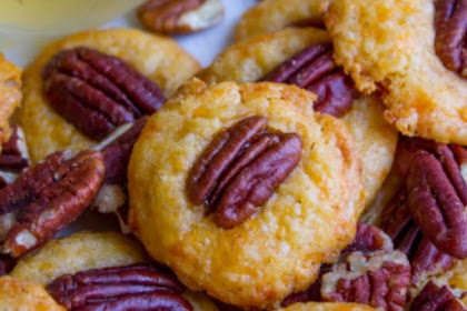 SOUTHERN PECAN CHEESE WAFERS RECIPE