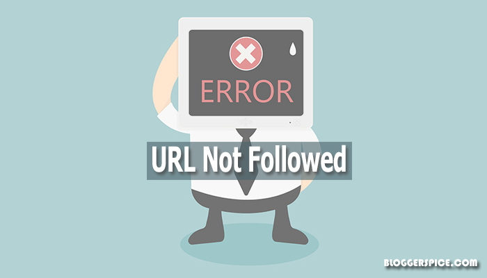 URL not followed error