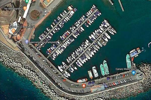 Fallece un hombre en el muelle deportivo de  Mogán, Gran Canaria