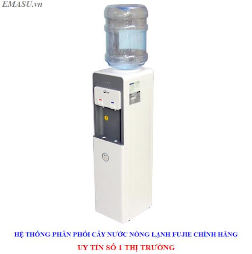Cây nước nóng lạnh cao cấp Fujie WD1900C úp bình