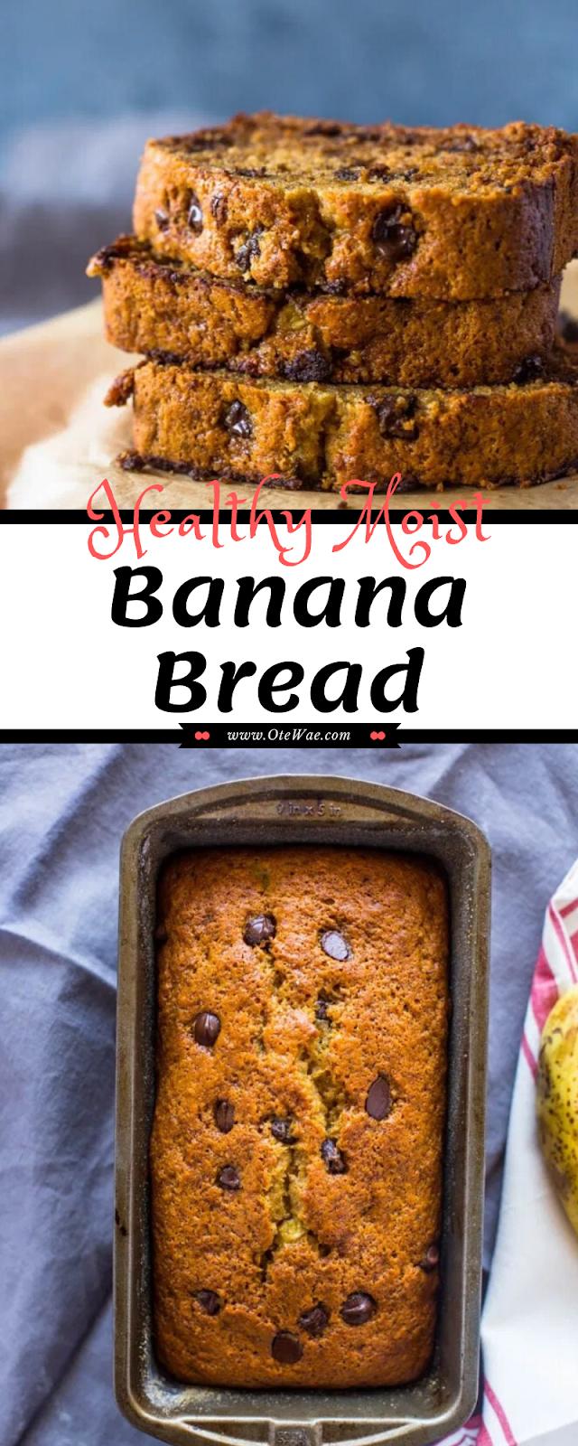 Healthy Moist Banana Bread