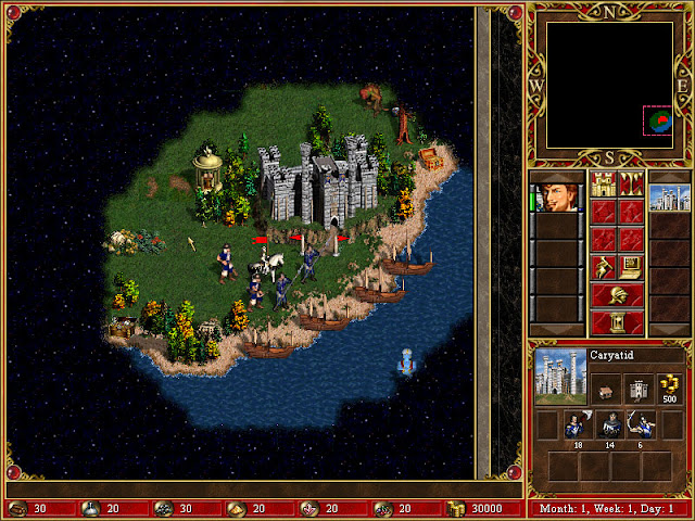 Map Screenshot | Heroes of Might and Magic 3