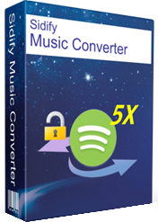Sidify Music Converter 1.1.7 poster box cover