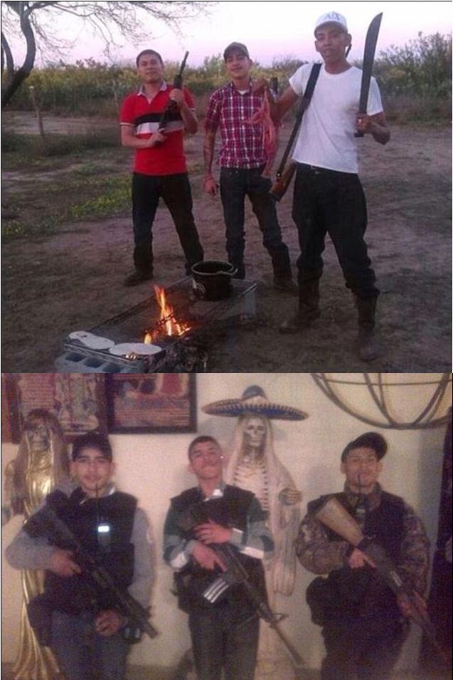 GRAPHIC: Los Zetas Drug Cartel Civil War Rages on Texas ...  |Zetas Violence