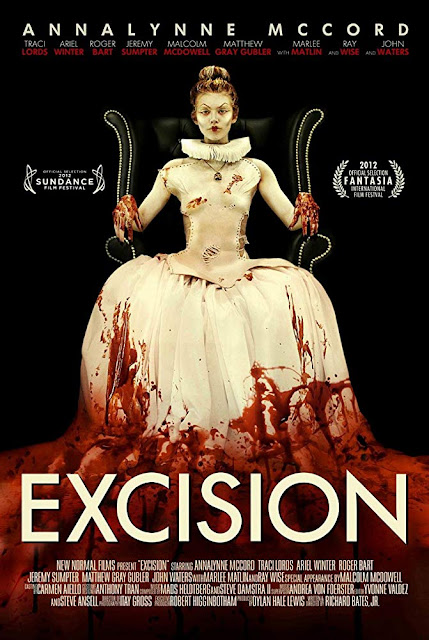 Excision 2012 horror movie poster