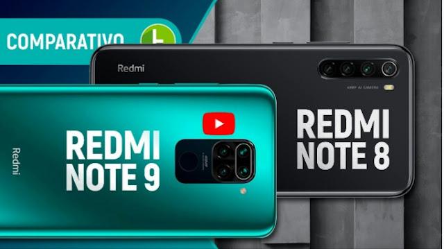 REDMI NOTE 9 vs NOTE 8