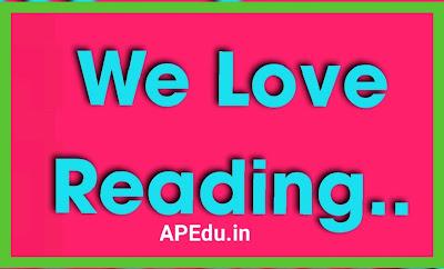 We Love Reading..