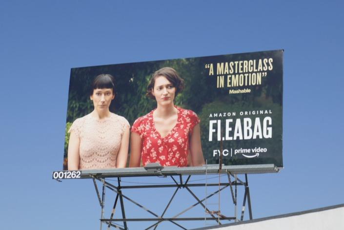 Fleabag season 2 Sisters FYC billboard