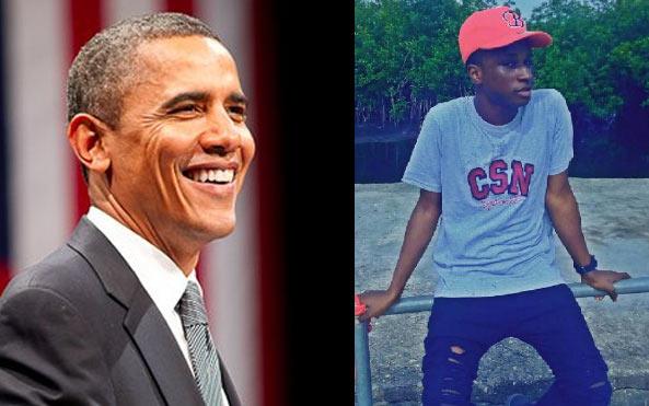 US president Barack Obama replies a Nigerian boy on Instagram