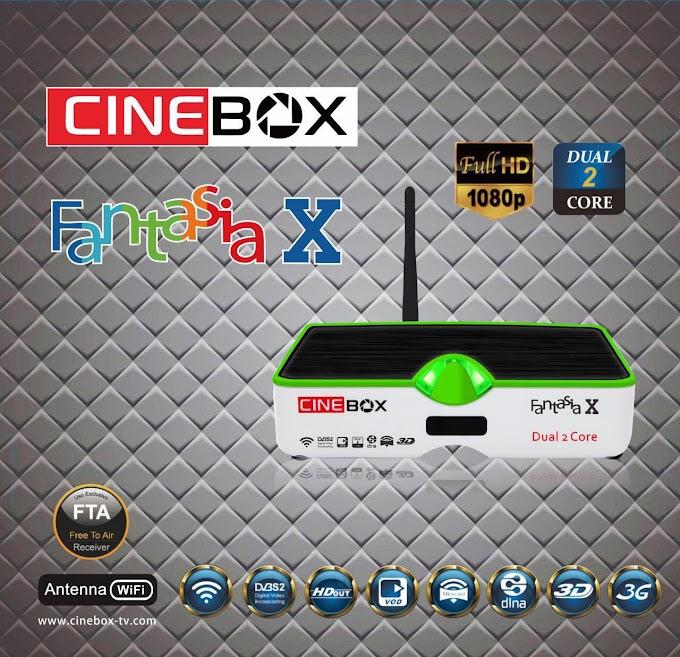 CINEBOX FANTASIA X NOVA ATUALIZAÇÃO - 29/07/2019