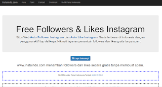Auto Like dan Follow Instagram Free Work Terbaru