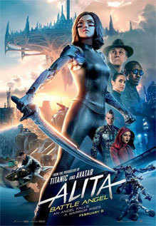 Alita Battle Angel 2019 Dual Audio HDRip 480p 400Mb x264